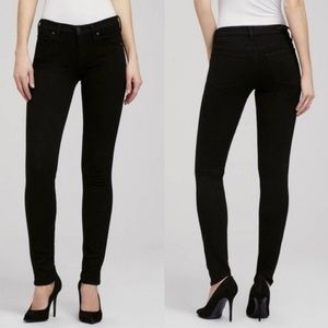 Citizens of Humanity Avedon Black Slick skinny 30